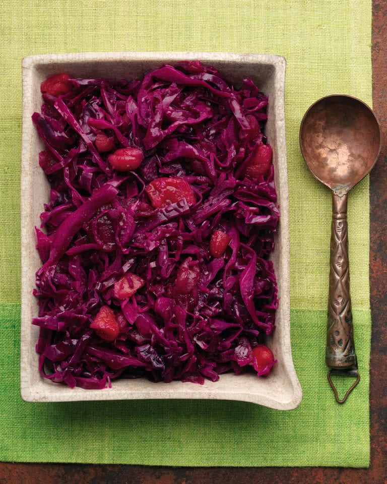 Christmas red cabbage