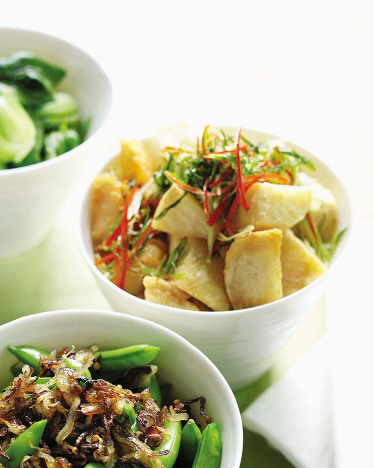 Roast chilli potatoes