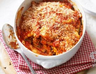 Quick and easy aubergine parmigiana