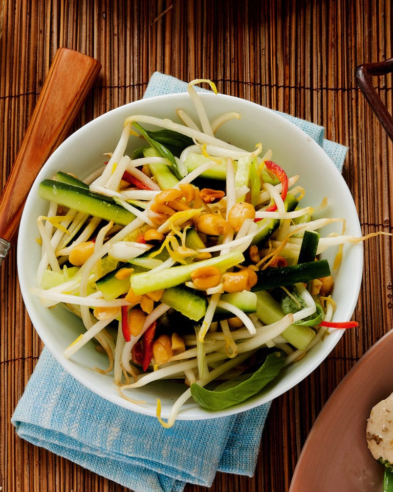 Quick Thai salad