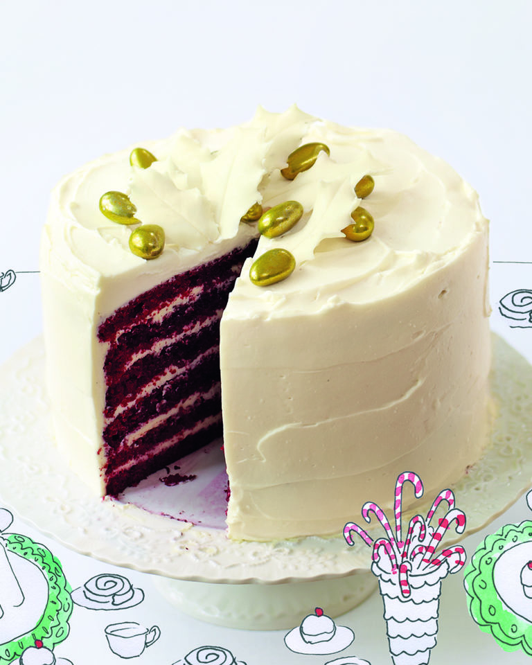 Excellent Red Velvet Cake Recipe Delicious Magazine Personalised Birthday Cards Rectzonderlifede