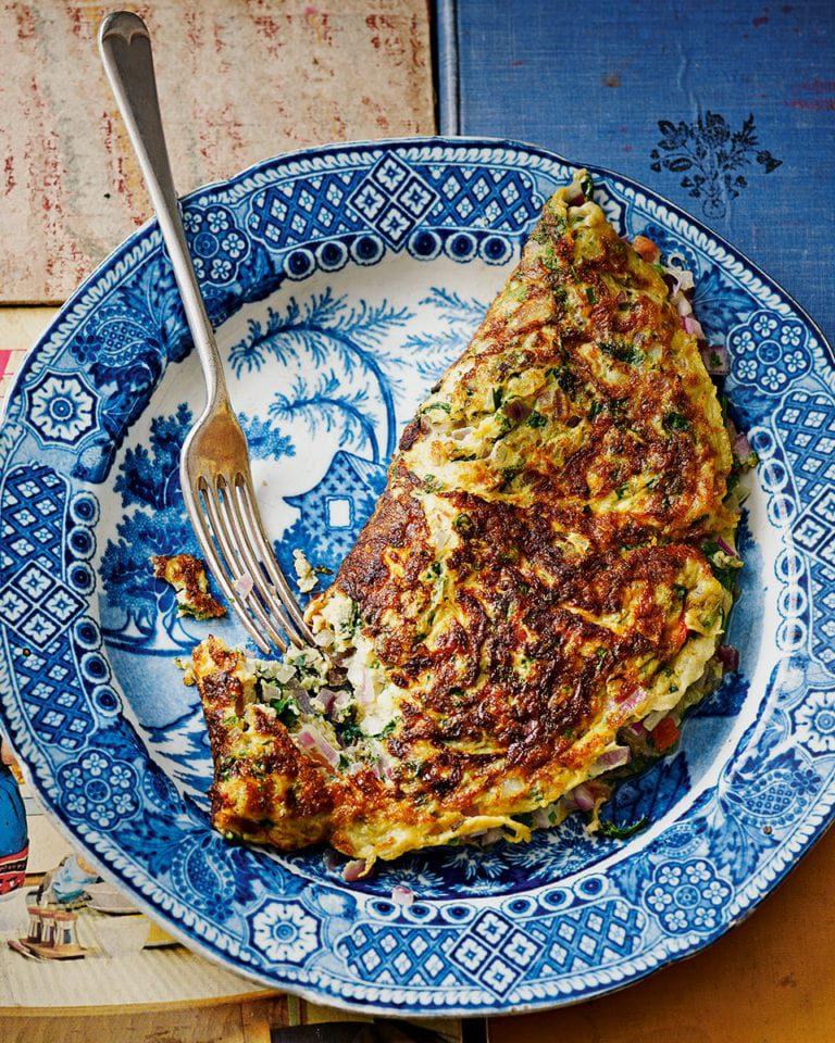 Cyrus Todiwala's masala omelette