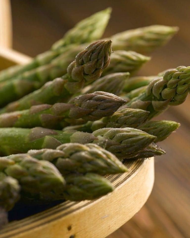 Why is the British asparagus season so short?