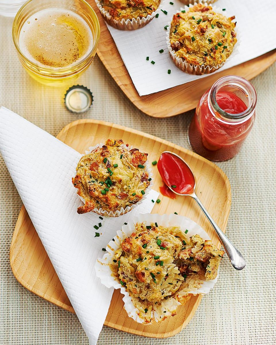 All Day Breakfast Muffins Recipe Delicious Magazine