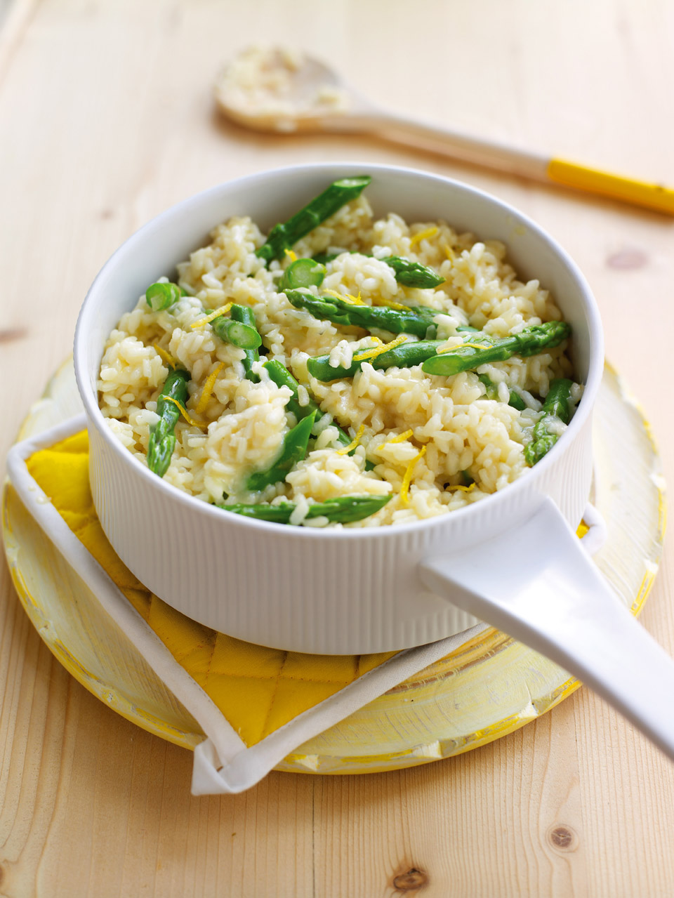 Asparagus and lemon risotto - delicious. magazine