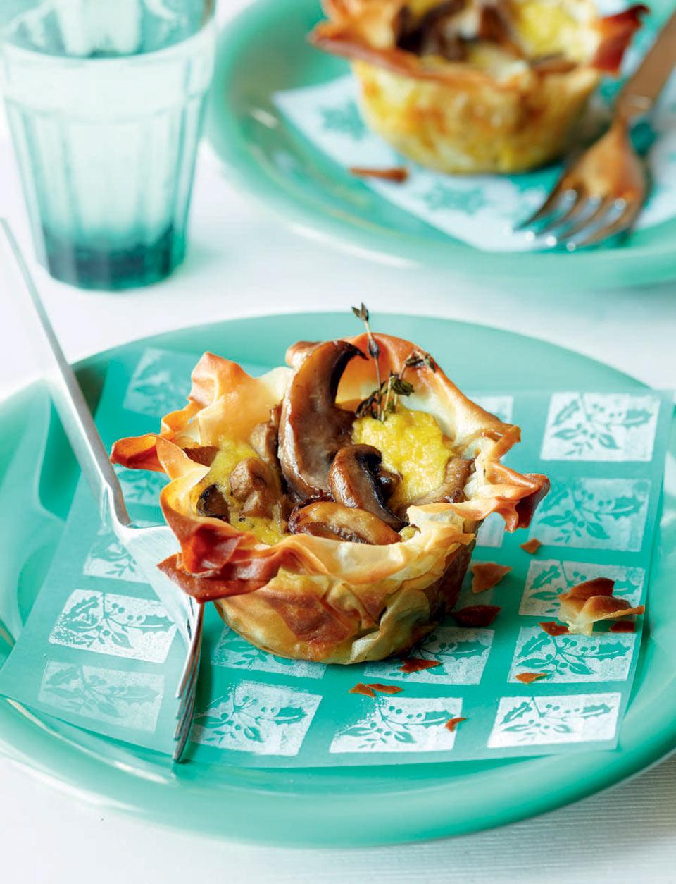Mushroom tartlets delicious magazine forumfinder Choice Image