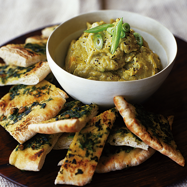 Avocado houmous with coriander pitta delicious magazine forumfinder Choice Image
