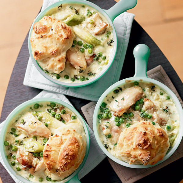 Creamy chicken cobbler delicious magazine forumfinder Images