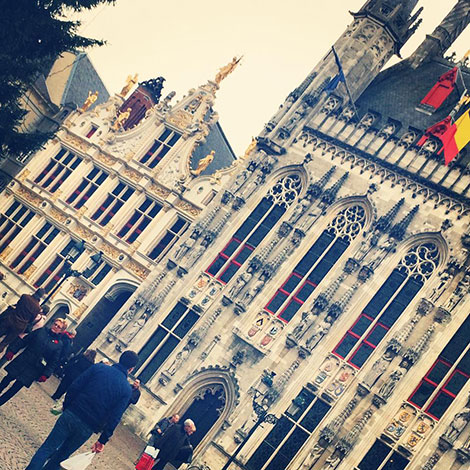 Stadhuis---The-Town-Hall---Bruges