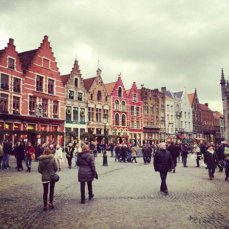 The-Market-Square-Bruges