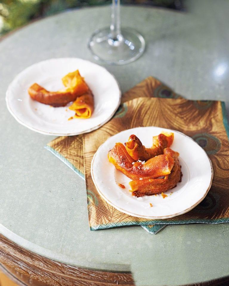 Crispy chorizo sausage rolls