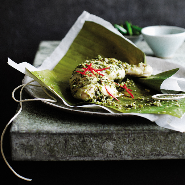Chicken lime and coconut parcels delicious magazine forumfinder Choice Image