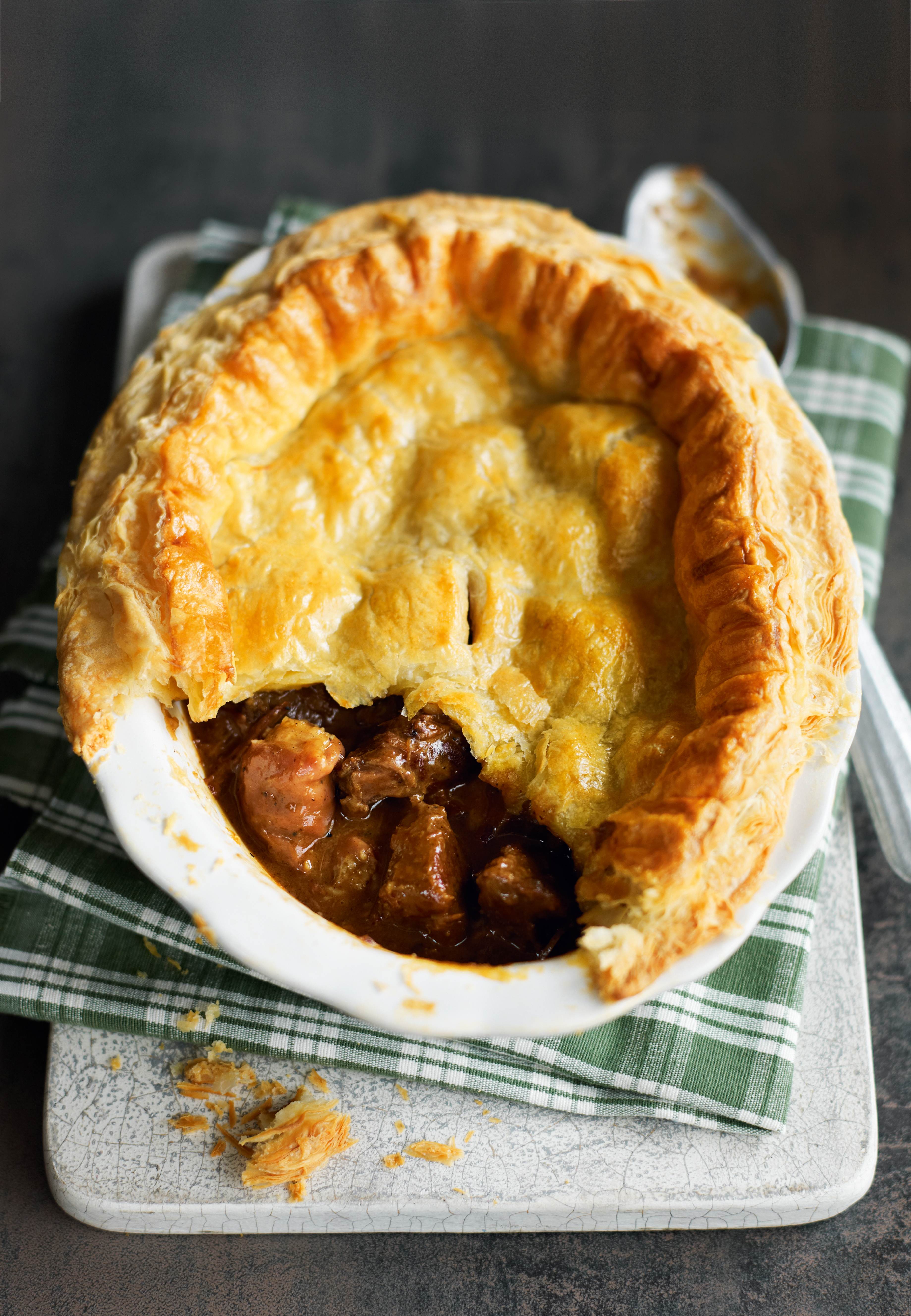 How to cook meat pie