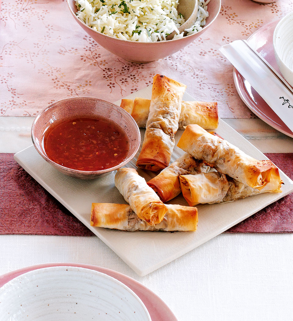 Quick spring rolls delicious magazine forumfinder Image collections