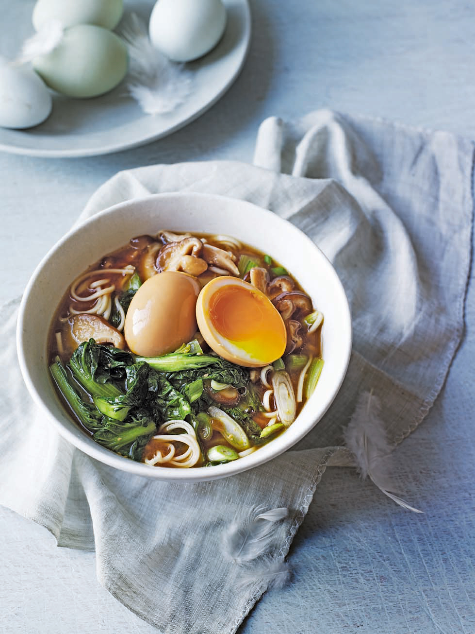 Egg and shiitake ramen delicious magazine forumfinder Image collections