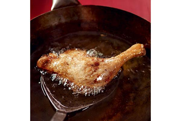 Frying-duck