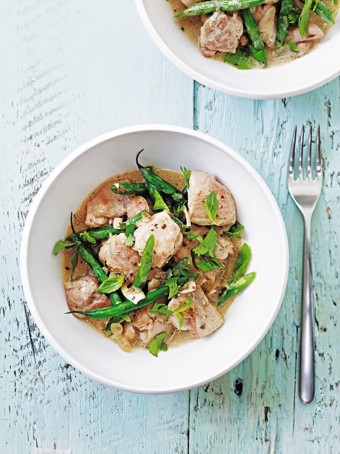 Thai green curry with chicken and green beans delicious magazine forumfinder Choice Image
