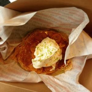 Kumquat pancake