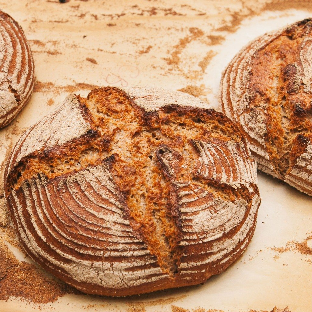 Sprouted spelt boule