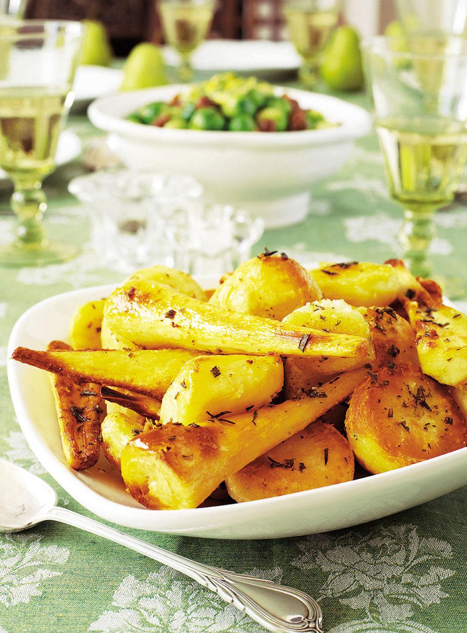 How to Make Cumin Sesame Roasted Potatoes photo