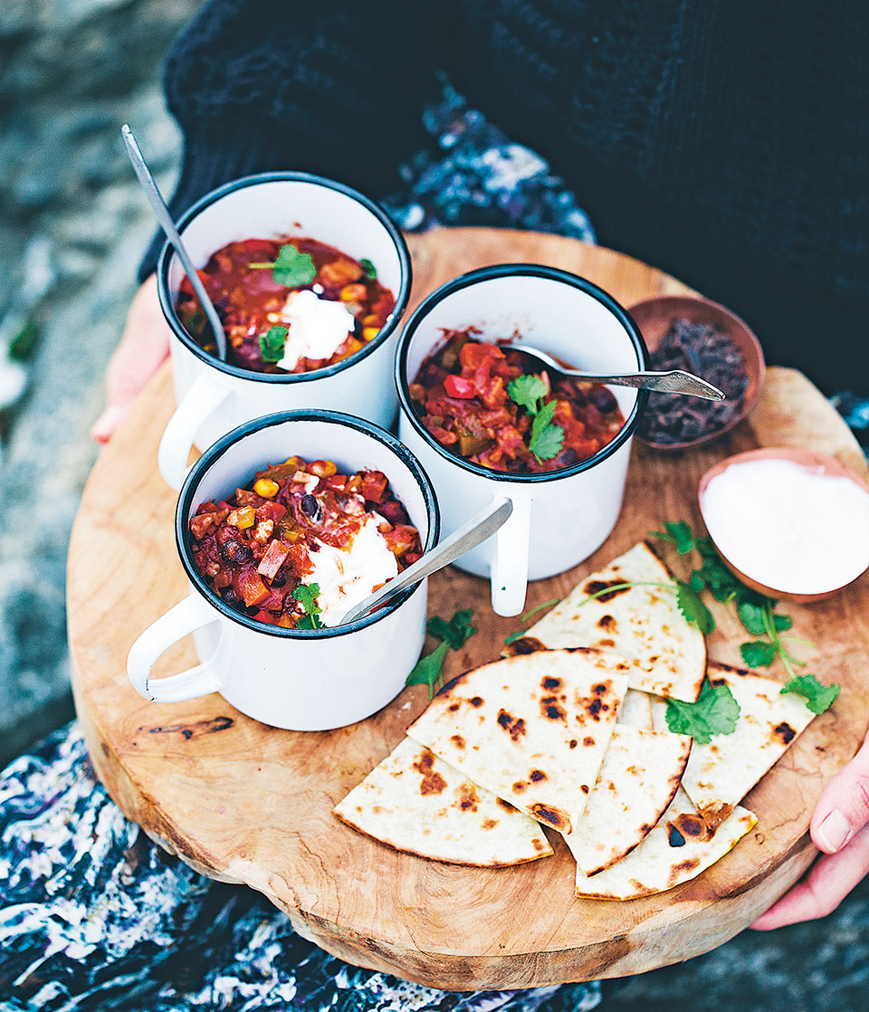 Vegetarian chilli delicious magazine forumfinder Image collections