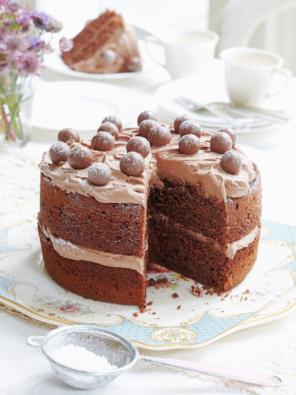 Malted chocolate cake - delicious. magazine