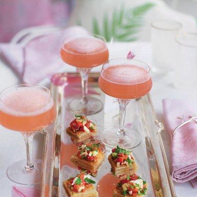 champagne rhubarb