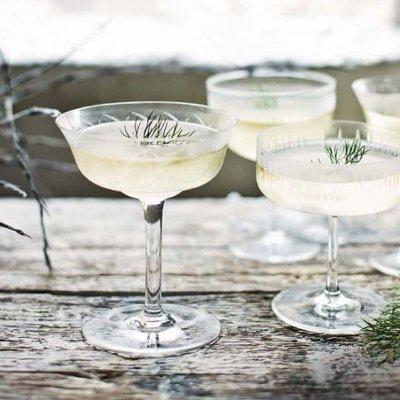 scandinavian gin cocktail