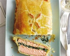 How to make salmon en croûte