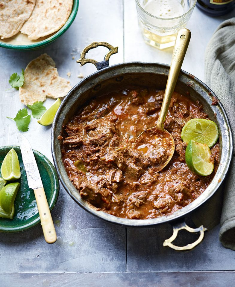 First class beef curry - delicious. magazine