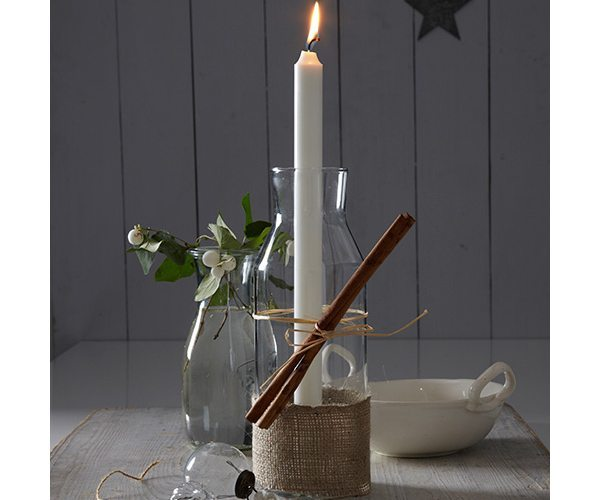candle-in-carafe
