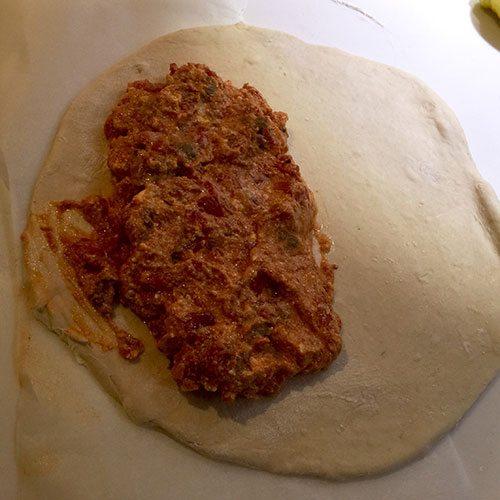 meatball-calzone