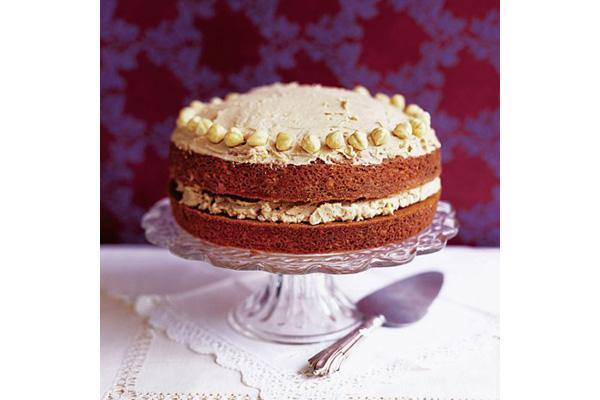 mocha-hazelnut-cake