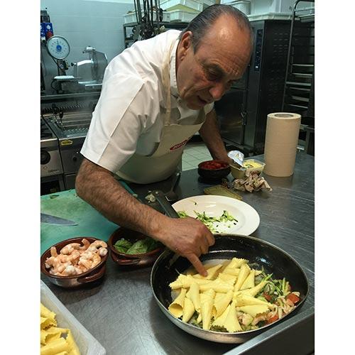 Gennaro contaldo cooks in Puglia