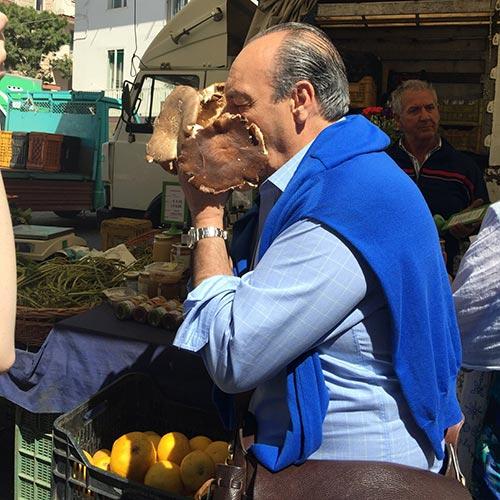 Gennaro contaldo trip to Puglia