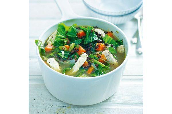 Chicken-lentil-soup-300-cal