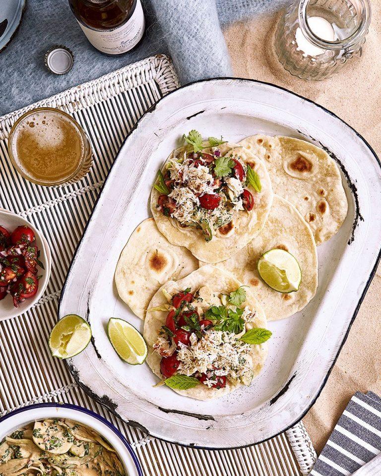 Crab tacos - delicious. magazine