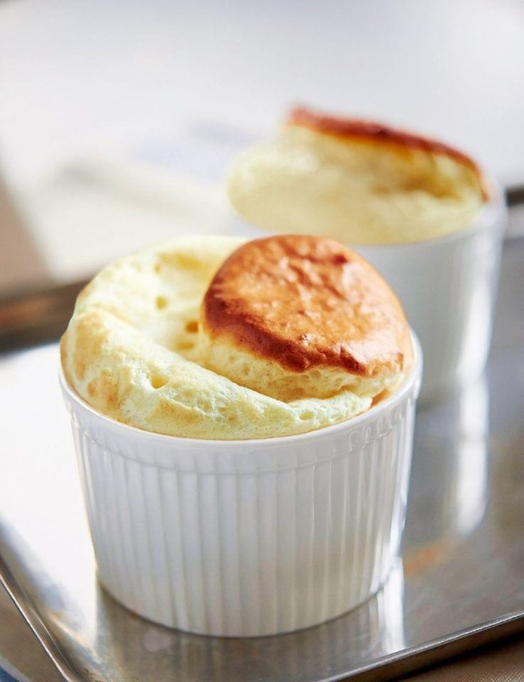 How to make a cheese soufflé
