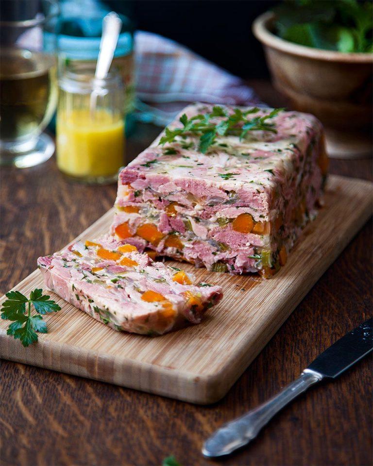 Donal Skehan's ham hock terrine - delicious. magazine
