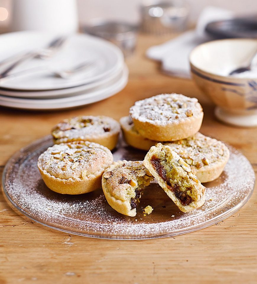 How to make clementine and pistachio mince pies - delicious. magazine