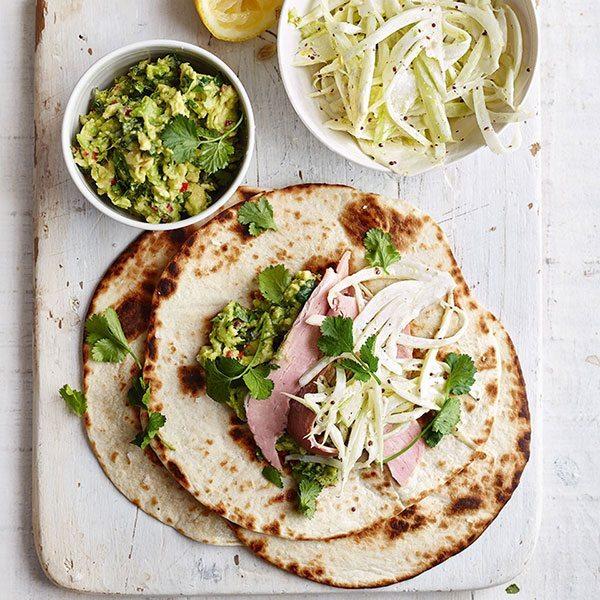 Ham-leftover-wraps