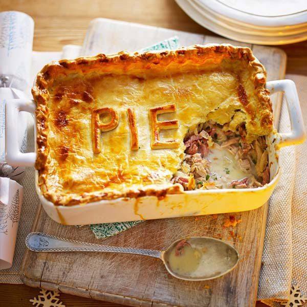 Ham-and-turkey-pie