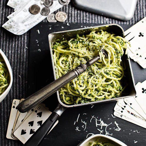 Sprouts-spaghetti