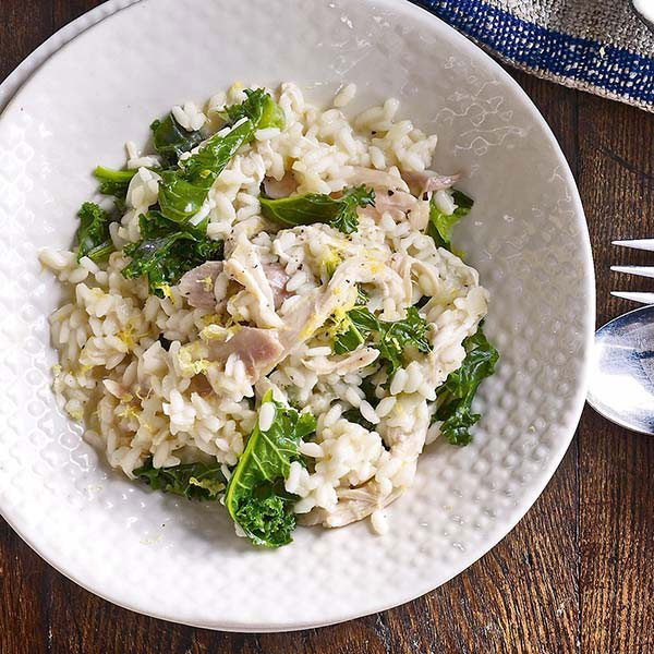 Turkey-and-kale-risotto