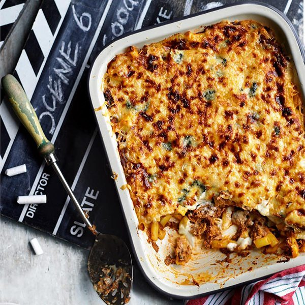 ragu-and-blue-cheese-baked-pasta