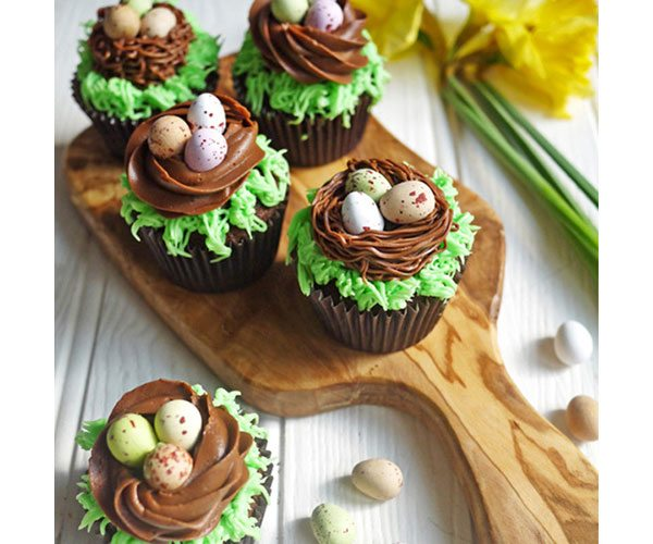 Mini-egg-nest-cakes