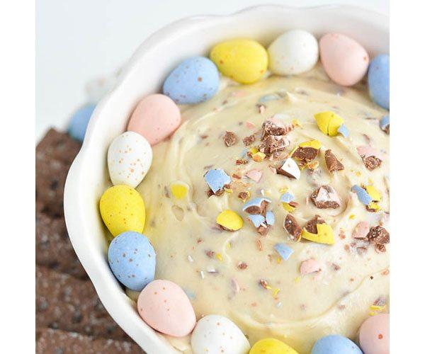 Mini-eggs-dip