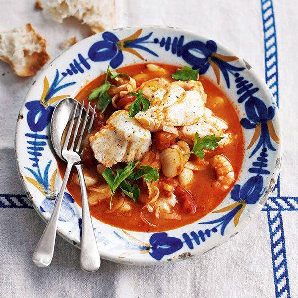 Tomato-fish-stew