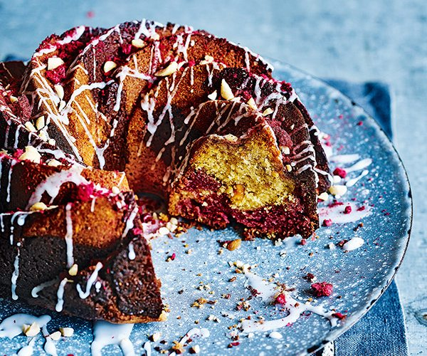 peanut-butter-and-raspberry-bundt-cake