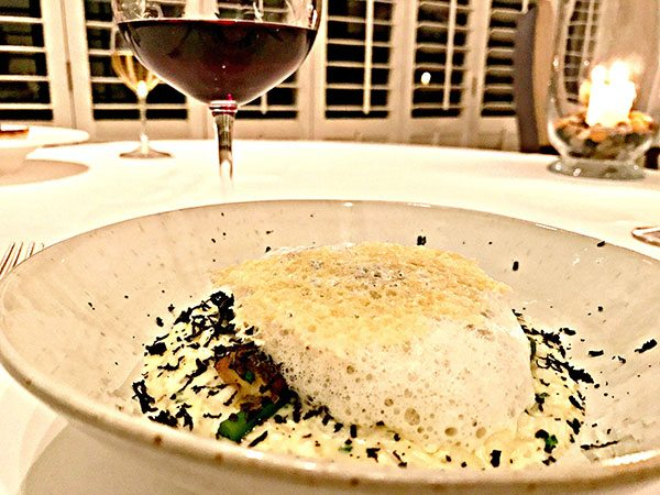 Ocean---truffle-risotto-with-Parmesan-foam
